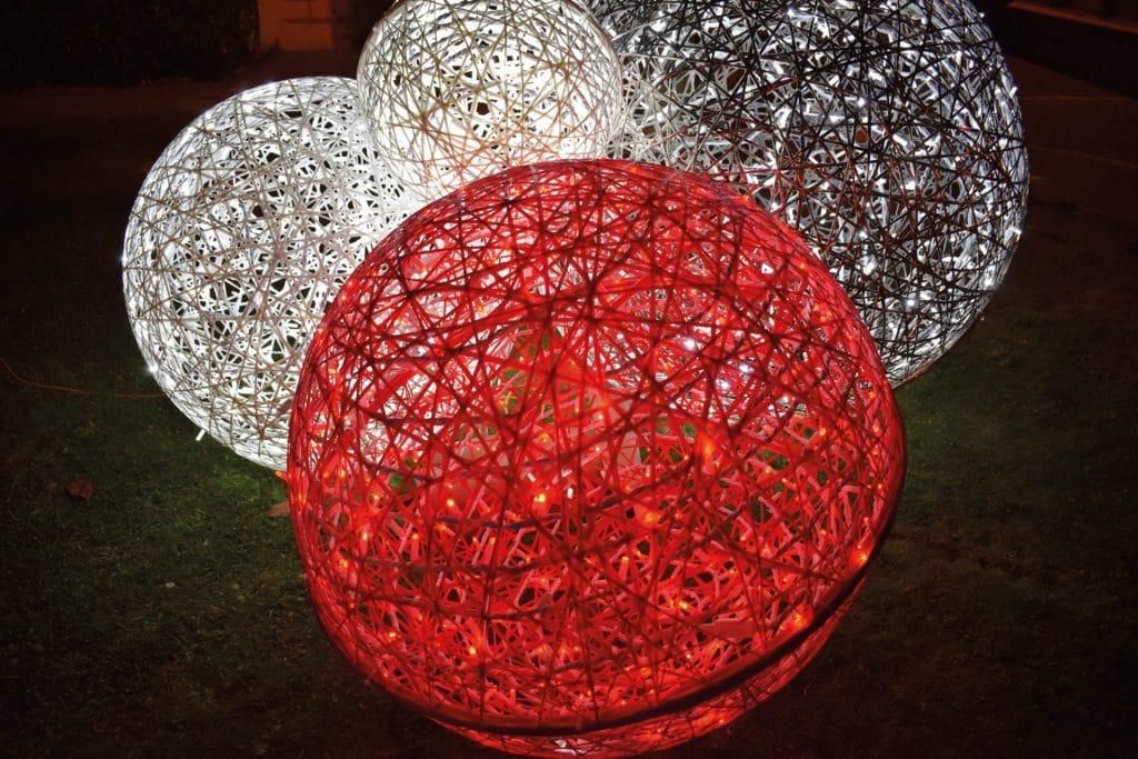 boules de noëls décoratives