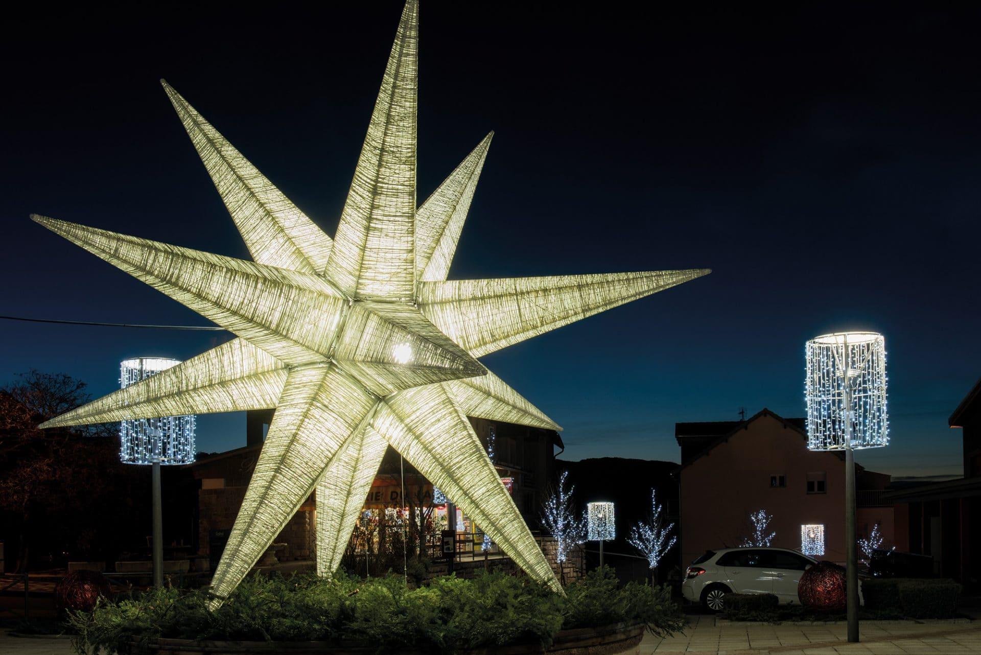 Étoile lumineuse géante à l